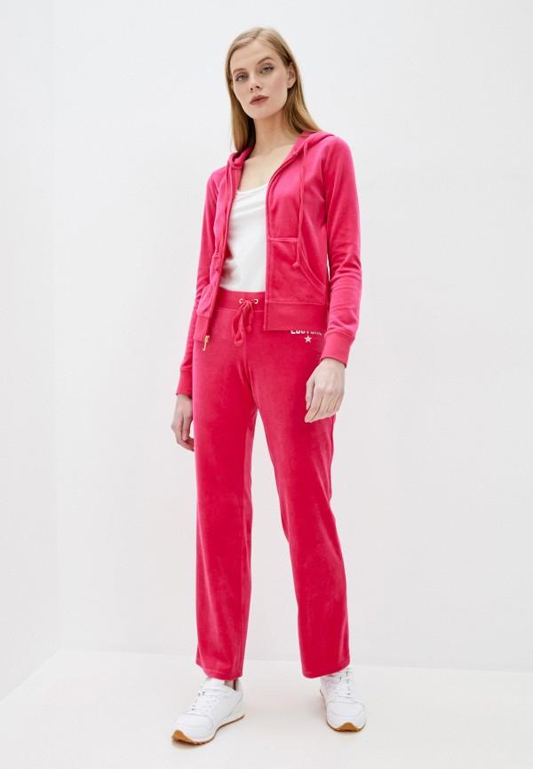 Juicy Couture | розовый Женские розовые спортивные брюки Juicy Couture | Clouty