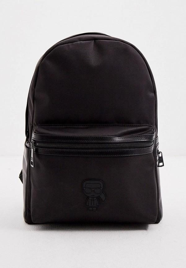 KARL LAGERFELD | черный Рюкзак Karl Lagerfeld | Clouty