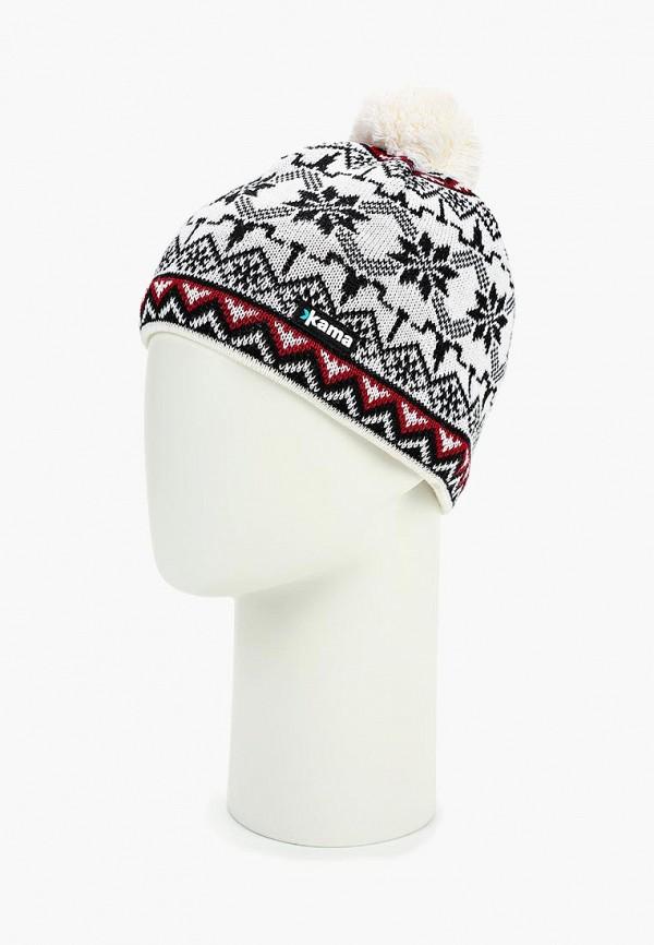 Kama | белый Зимняя белая шапка Kama | Clouty