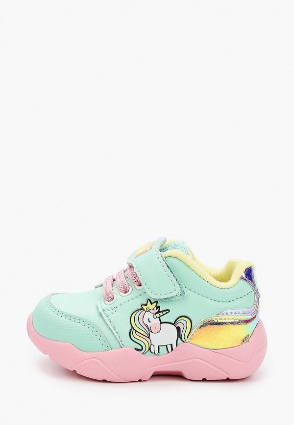 Kakadu | бирюзовый Бирюзовые кроссовки Kakadu искусственный материал для девочек | Clouty
