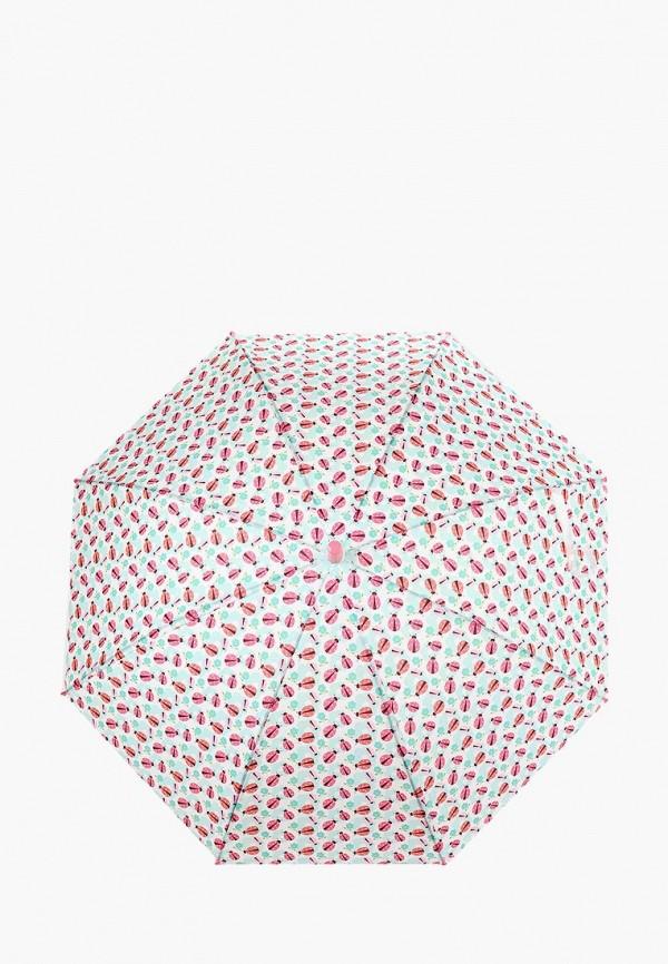 Kenka | Белый складной зонт Kenka для девочек | Clouty