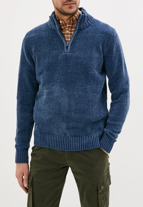 Kensington Eastside | Мужской зимний синий свитер Kensington Eastside | Clouty