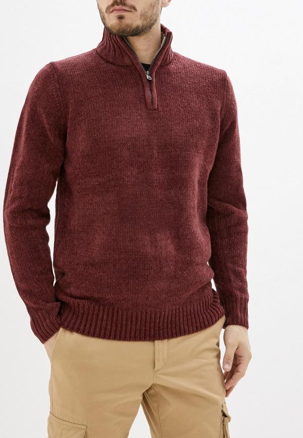 Kensington Eastside | Мужской зимний бордовый свитер Kensington Eastside | Clouty