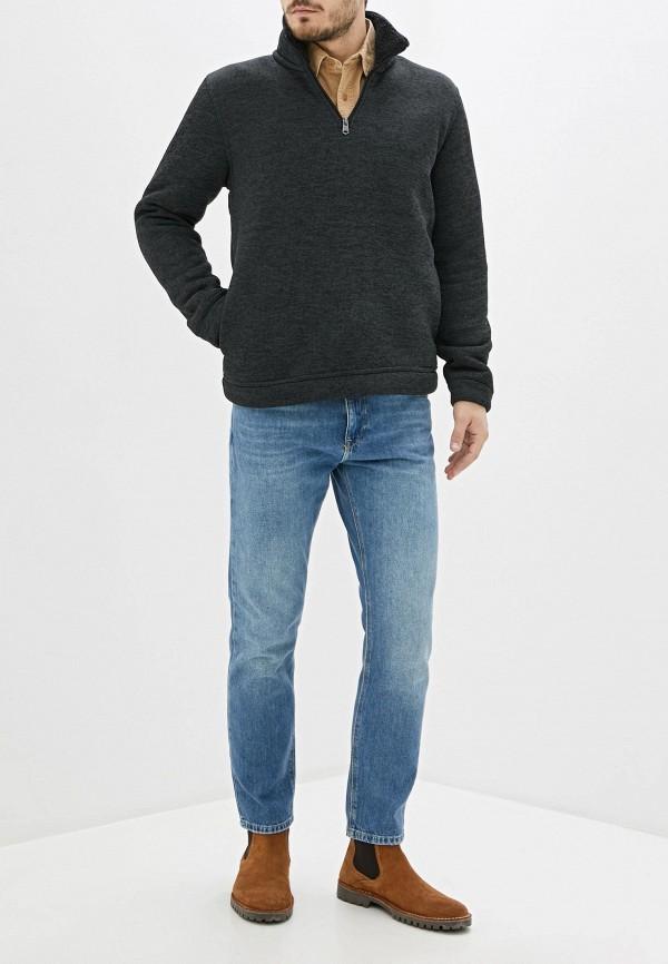Kensington Eastside   Мужской зимний серый свитер Kensington Eastside   Clouty