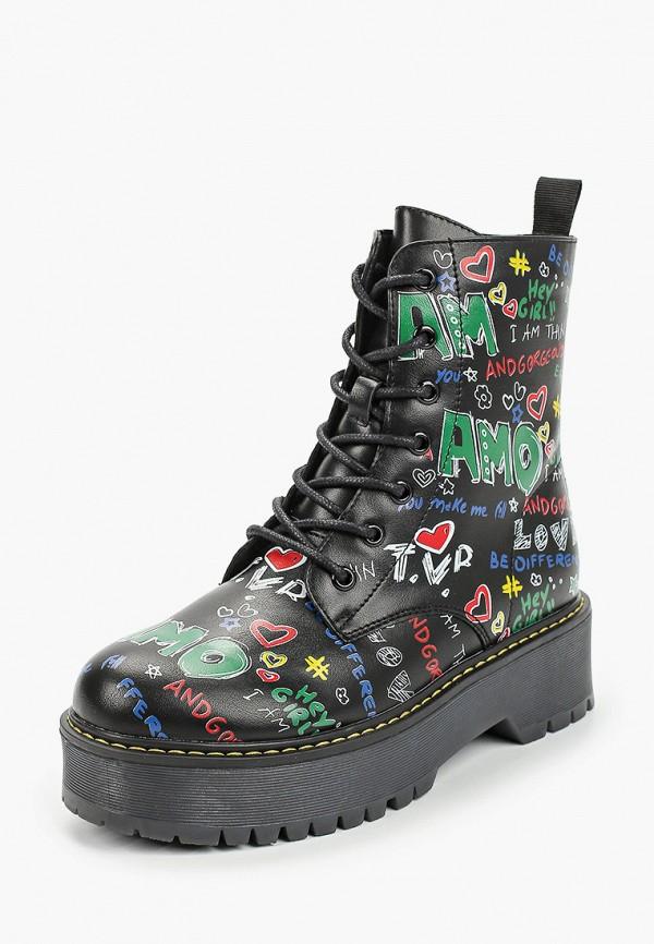 Keddo | черный Ботинки Keddo | Clouty