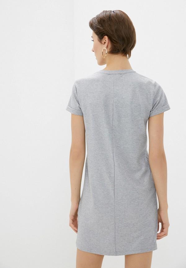Koton   серый Серое платье Koton   Clouty