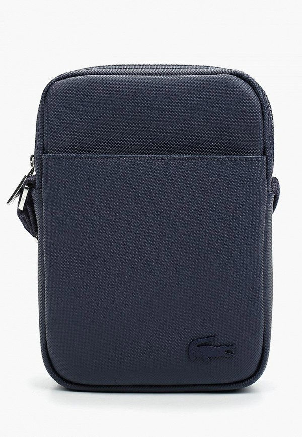 Lacoste   синий Мужская синяя сумка Lacoste   Clouty