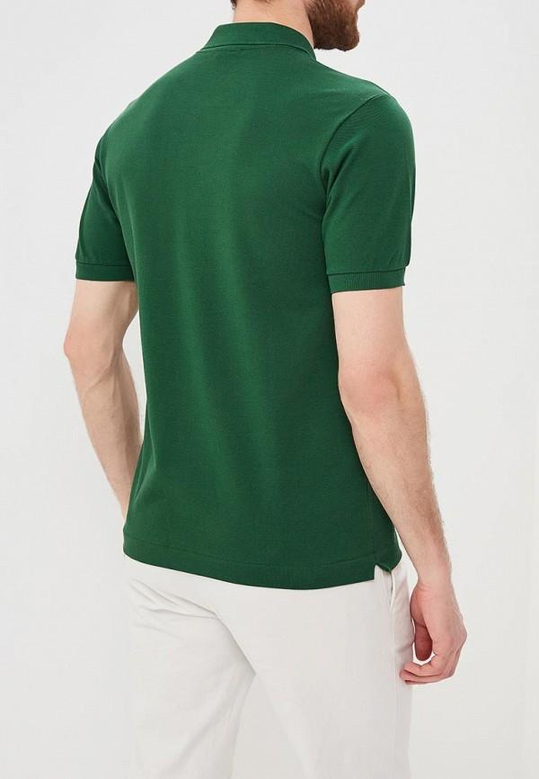 Lacoste | зеленый Мужское зеленое поло Lacoste | Clouty