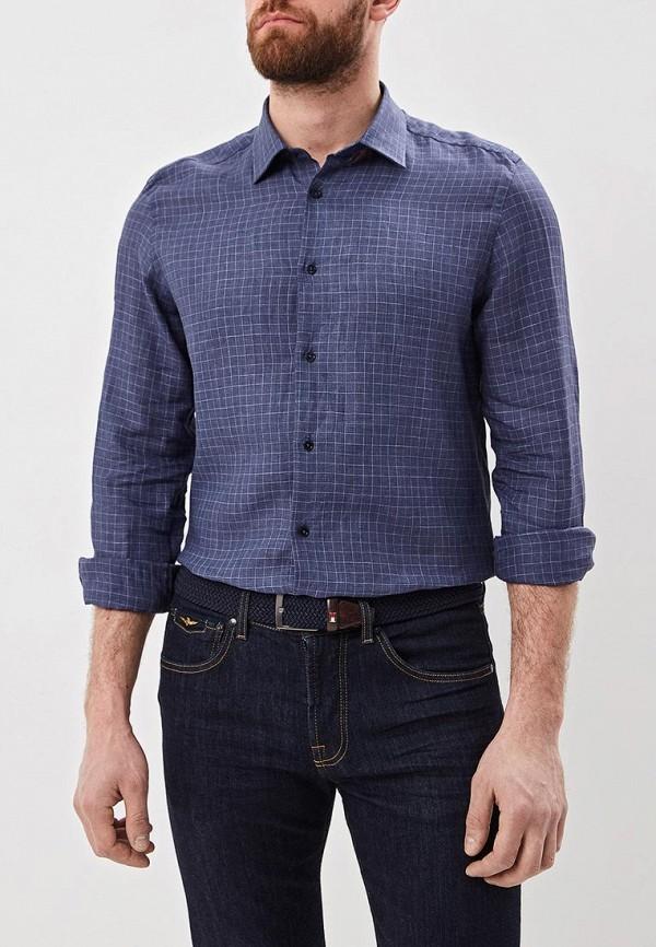 Pal Zileri   синий Мужская синяя рубашка Pal Zileri   Clouty