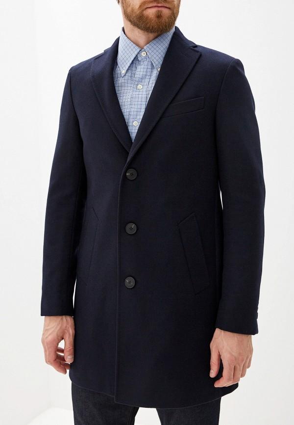 Pal Zileri   синий Мужское синее пальто Pal Zileri   Clouty