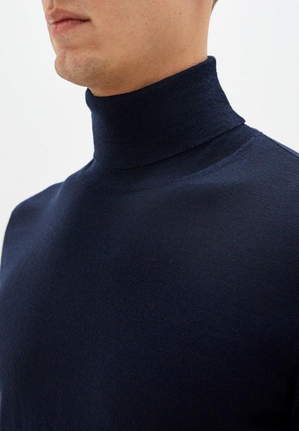 Pal Zileri | синий Мужская синяя водолазка Pal Zileri | Clouty