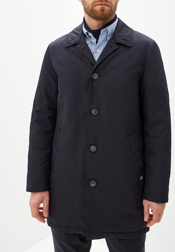 Pal Zileri   синий Мужская синяя утепленная куртка Pal Zileri   Clouty