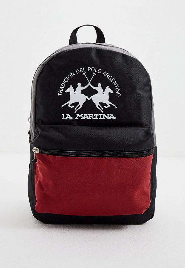 La Martina | черный Рюкзак La Martina | Clouty