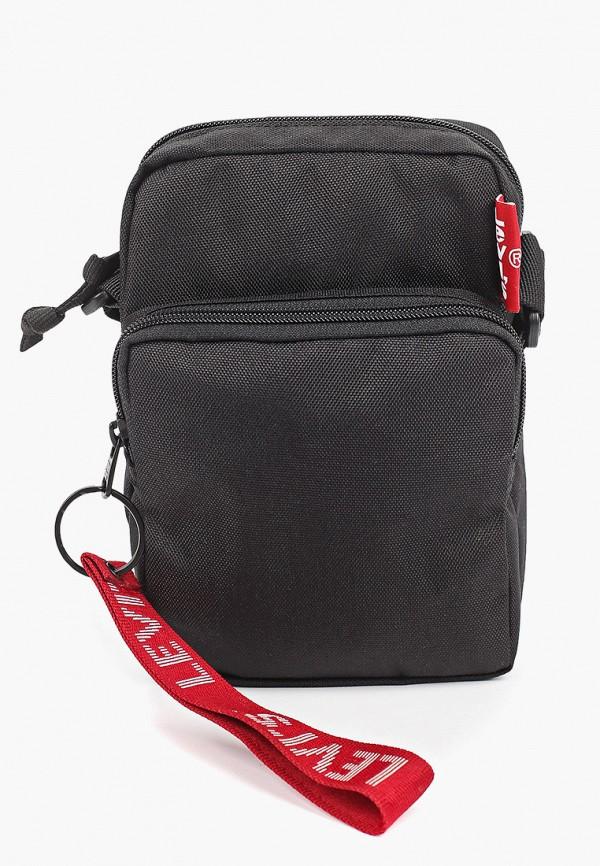 Levi's | черный Мужская черная сумка Levi's | Clouty