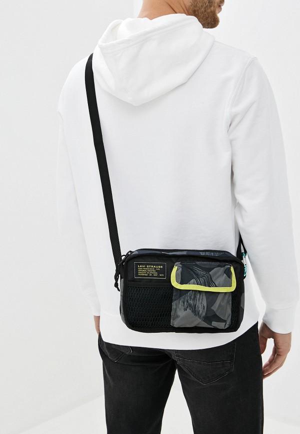 Levi's | серый Мужская серая сумка Levi's | Clouty