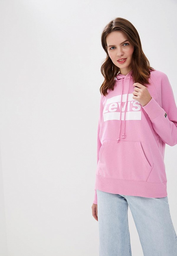Levi's | розовый Худи | Clouty