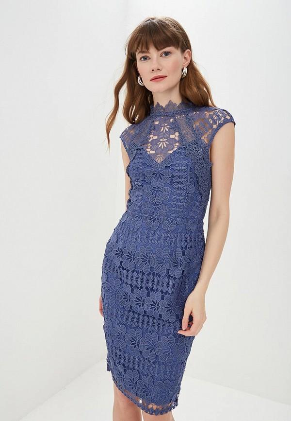 Little Mistress | синий Летнее синее платье Little Mistress | Clouty