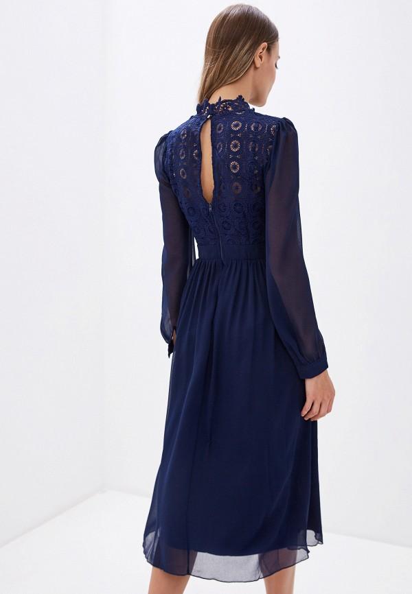 Little Mistress | синий Синее платье Little Mistress | Clouty