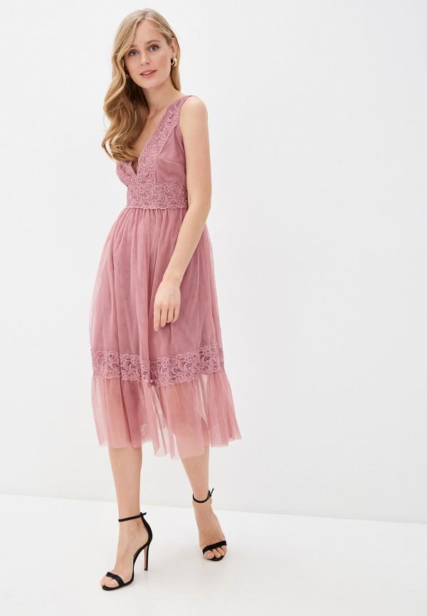 Little Mistress | розовый Платье Little Mistress | Clouty
