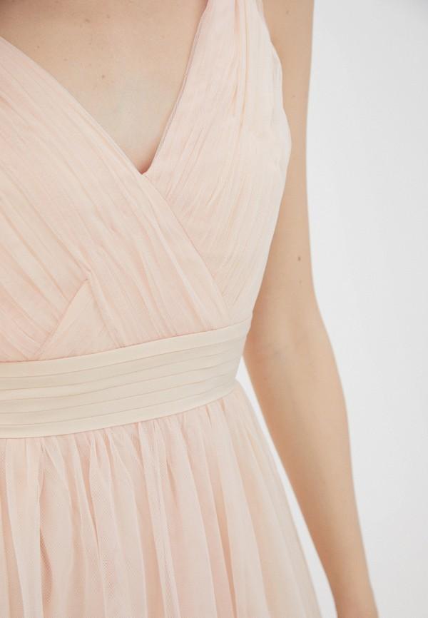 Little Mistress | розовый Розовое платье Little Mistress | Clouty