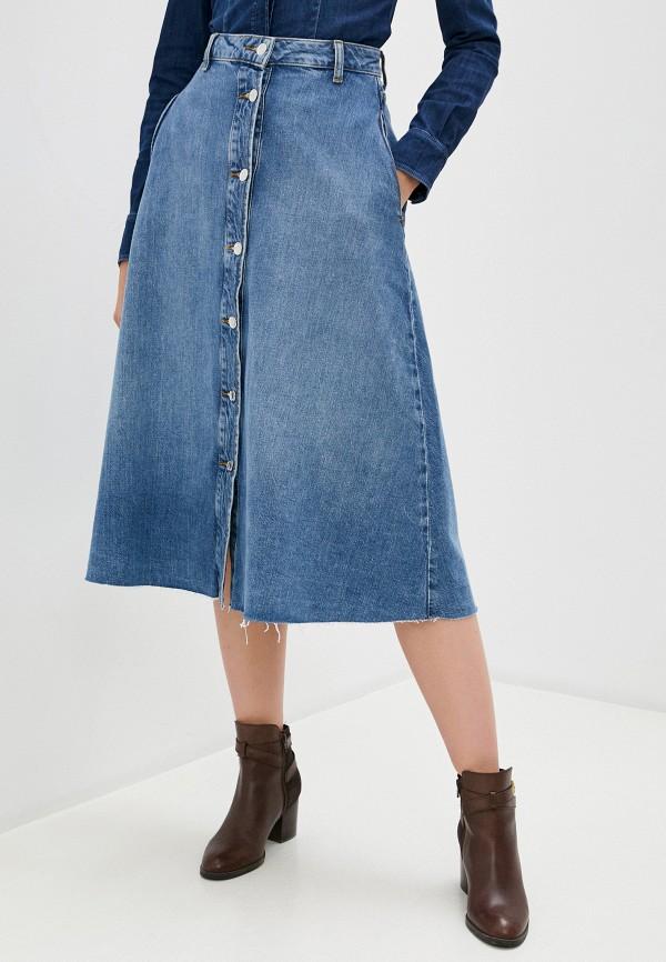 Liu•Jo   голубой Юбка джинсовая Liu Jo   Clouty