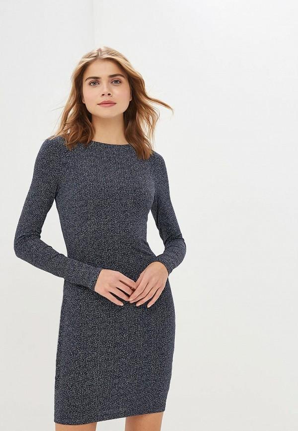 LOVE REPUBLIC | синий Женское синее платье LOVE REPUBLIC | Clouty