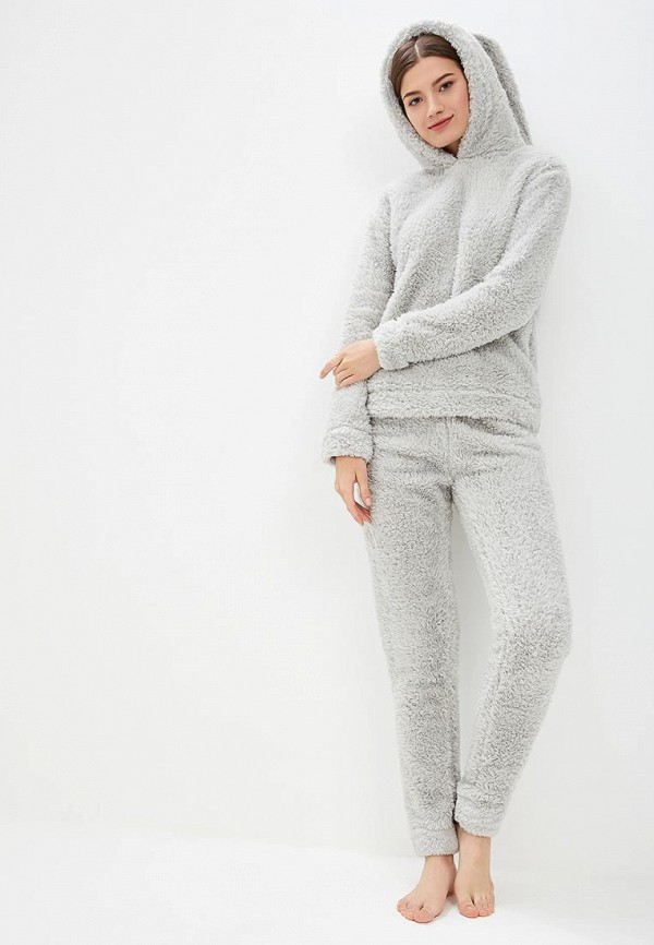 Loungeable | Женский серый комплект Loungeable | Clouty