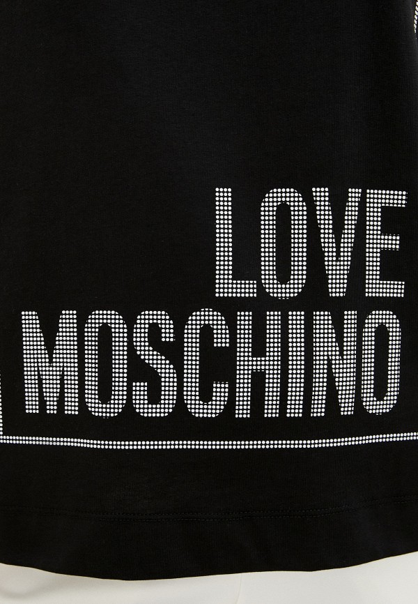 Love Moschino | черный Футболка Love Moschino | Clouty