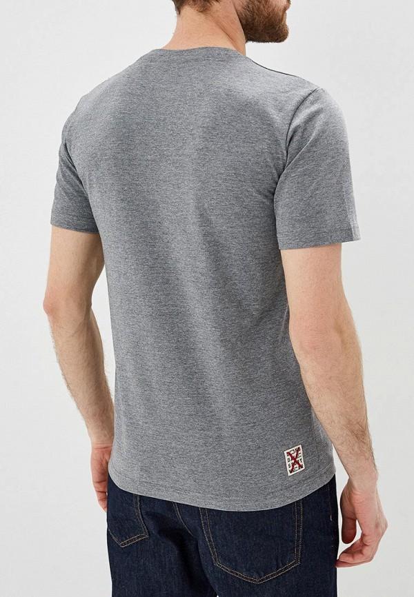 Lonsdale   серый Мужская серая футболка Lonsdale   Clouty