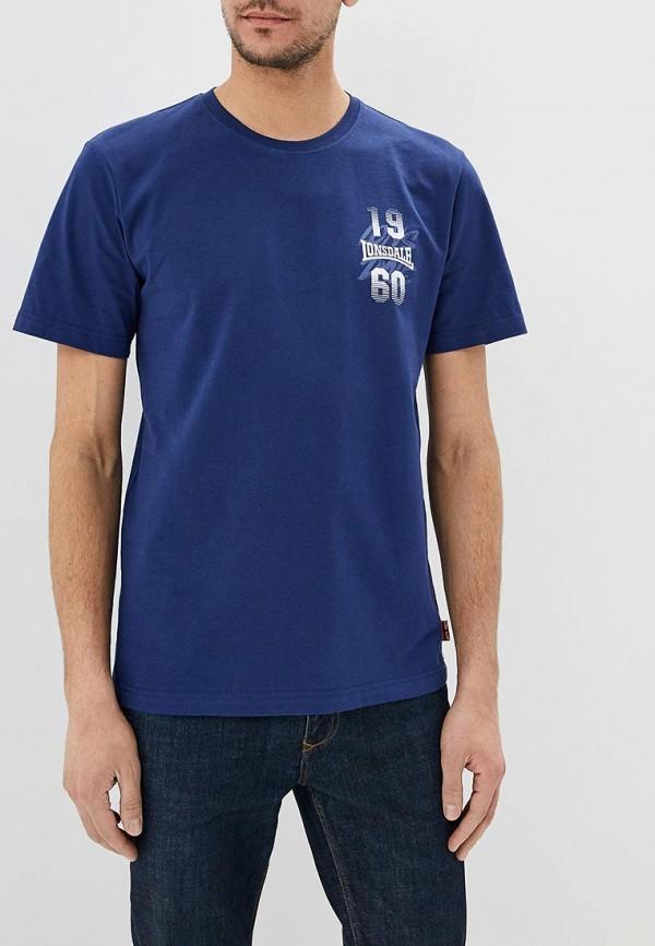 Lonsdale | синий Футболка Lonsdale | Clouty