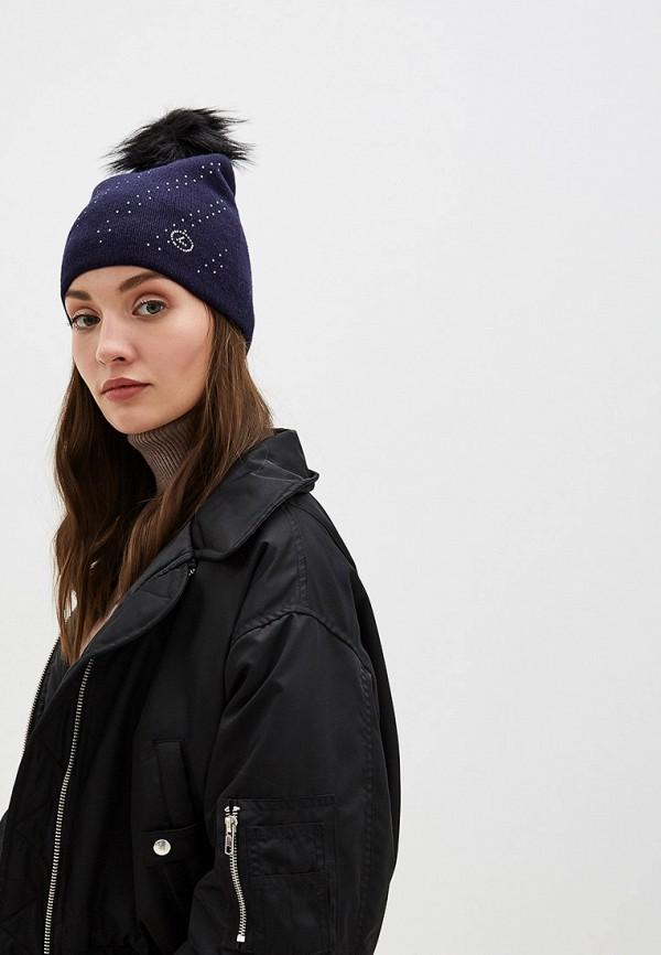 Luhta | синий Женская зимняя синяя шапка Luhta | Clouty