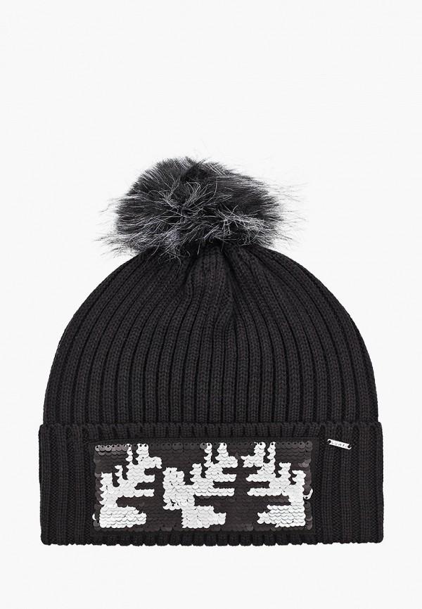 Luhta | черный Женская зимняя черная шапка Luhta | Clouty