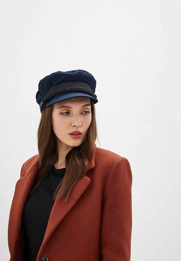 MANGO | синий Женская синяя кепка MANGO | Clouty