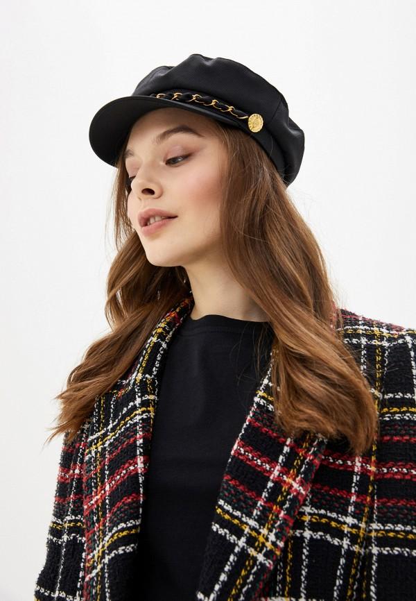 MANGO | черный Женская черная кепка MANGO | Clouty