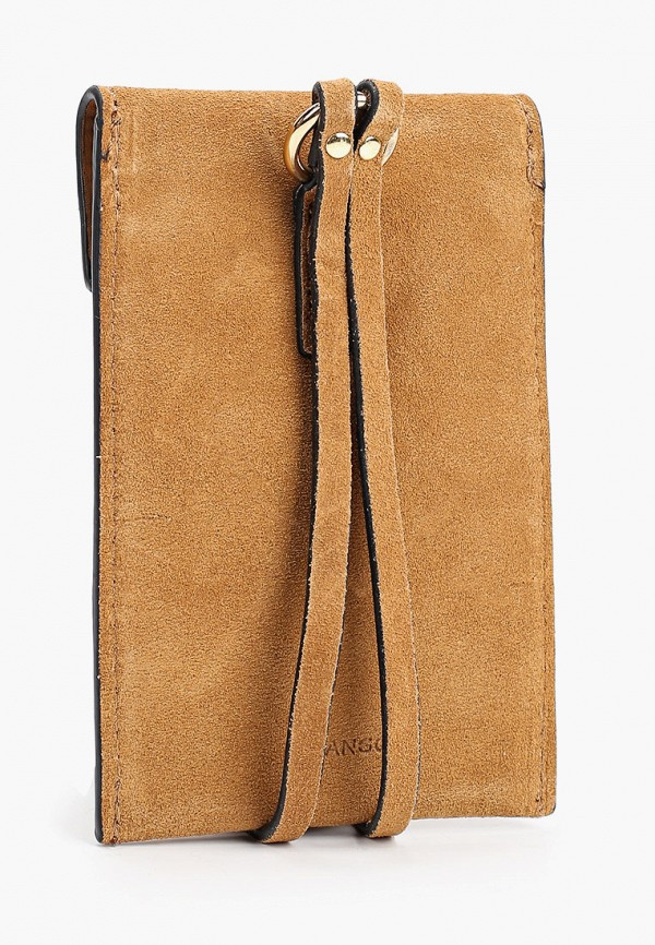 MANGO | Женский коричневый кошелек MANGO | Clouty