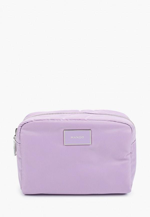 MANGO | фиолетовый Фиолетовая косметичка MANGO | Clouty