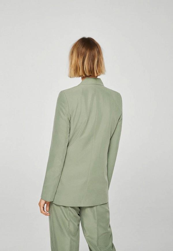 MANGO | зеленый Жакет | Clouty