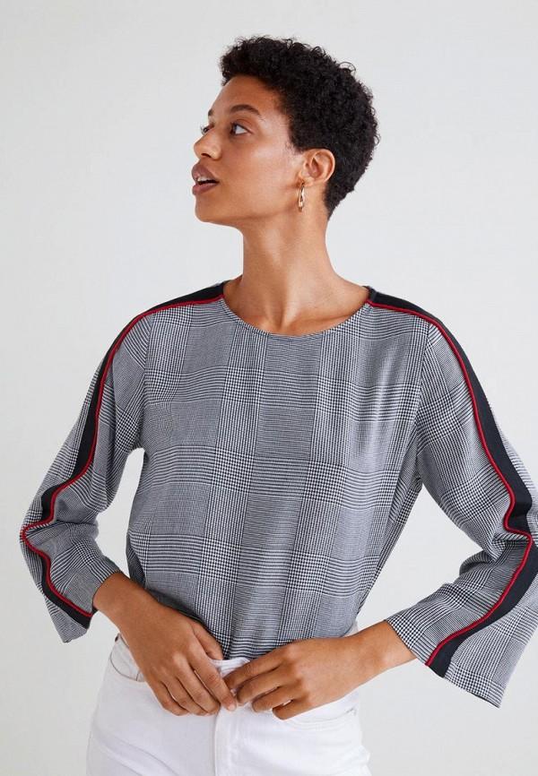 MANGO | серый Блуза | Clouty