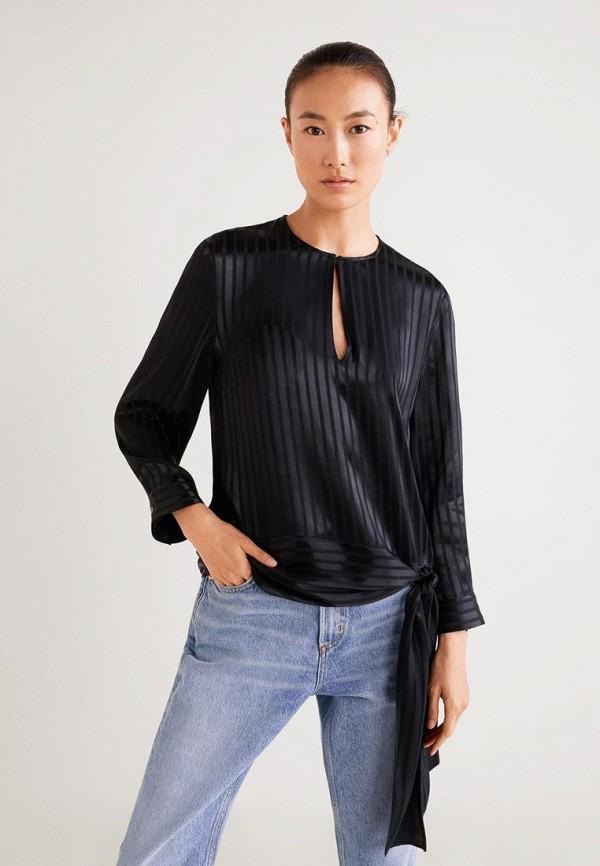 MANGO | черный Блуза | Clouty