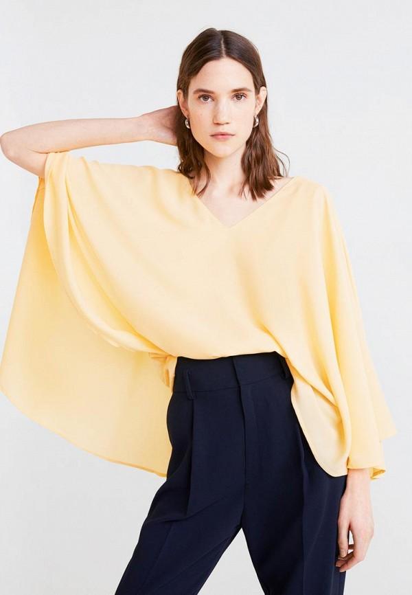 MANGO | желтый Женская желтая блуза MANGO | Clouty