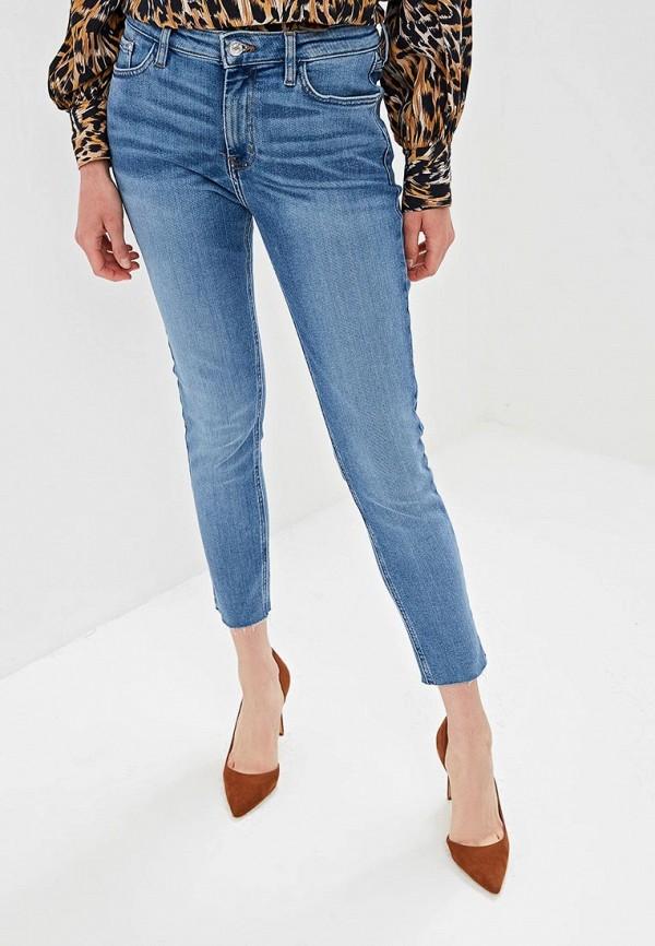 MANGO | голубой Женские голубые джинсы MANGO | Clouty