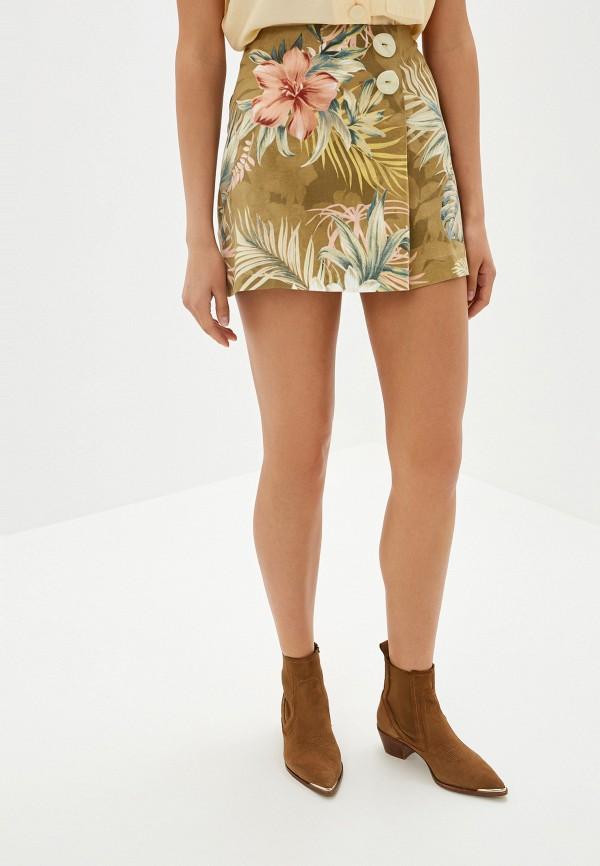 MANGO | хаки Женская юбка MANGO | Clouty