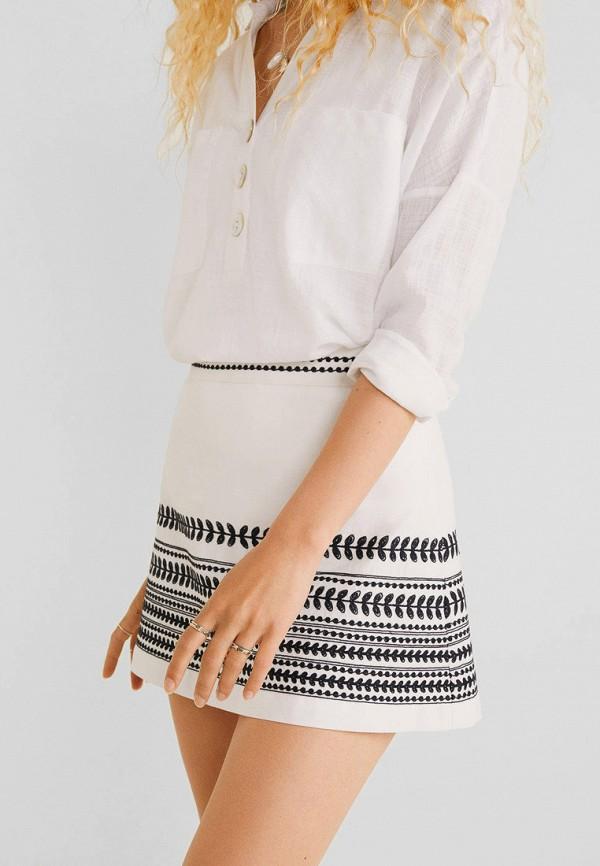 MANGO   белый Белая юбка MANGO   Clouty