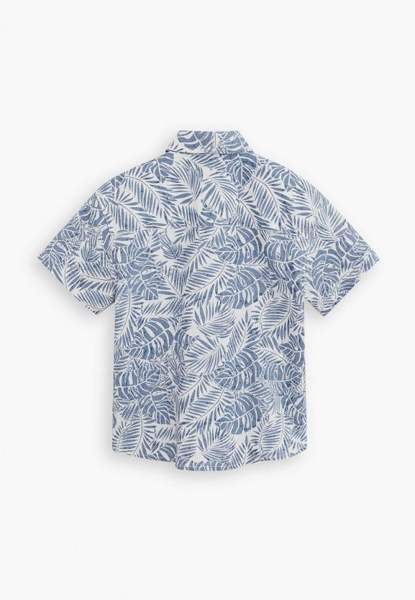 Mango Kids | голубой Голубая рубашка Mango Kids для мальчиков | Clouty
