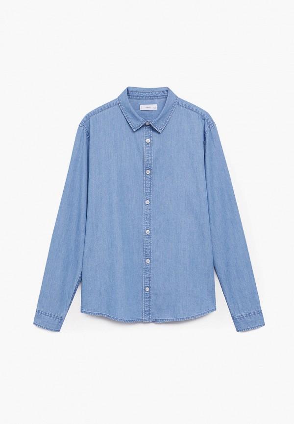 Mango Kids | синий Рубашка Mango Kids | Clouty