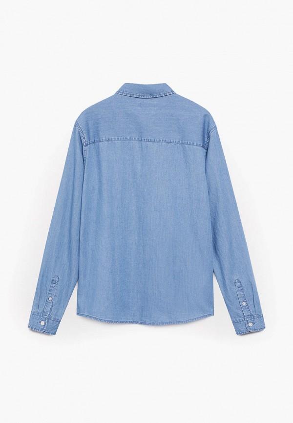 Mango Kids | голубой Рубашка Mango Kids | Clouty