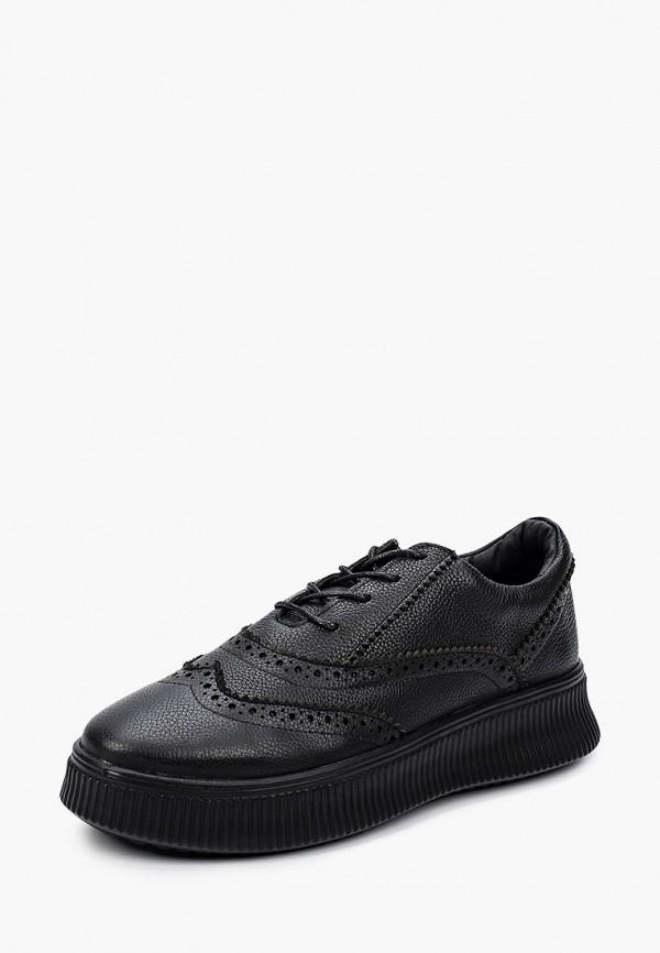 Matt Nawill   черный Женские черные ботинки Matt Nawill искусственный материал   Clouty