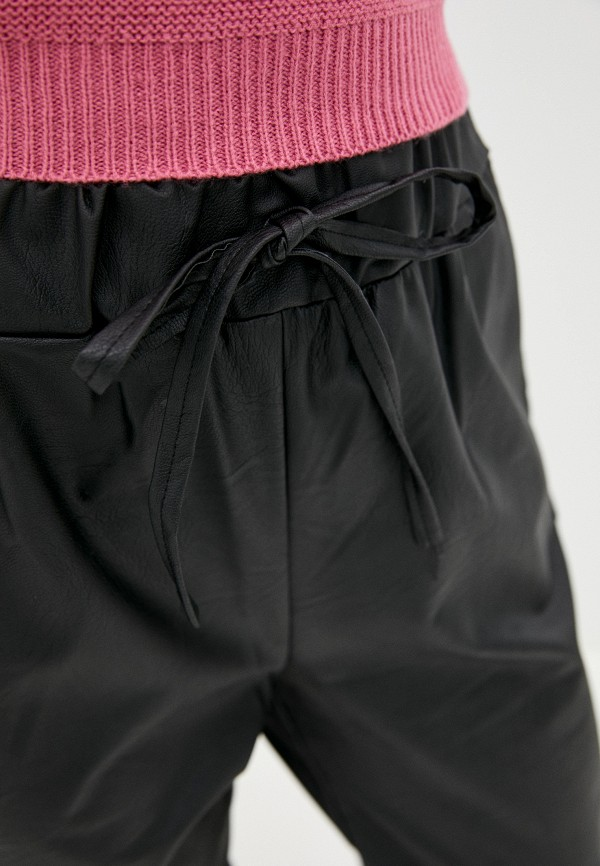 Massimiliano Bini | черный Женские черные брюки Massimiliano Bini | Clouty