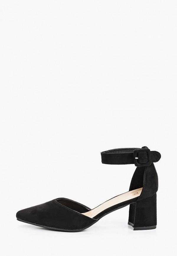 Martin Pescatore | черный Черные туфли Martin Pescatore искусственный материал | Clouty