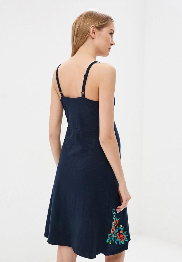 Mama Licious | синий Синее платье Mama Licious | Clouty